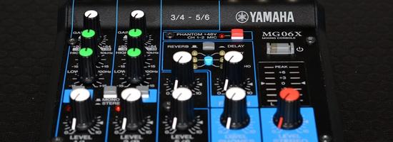 Yamaha MG06X szintezés
